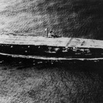 The Akagi sailing in 1940.