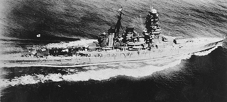 Japanese Battlecruiser Hiei