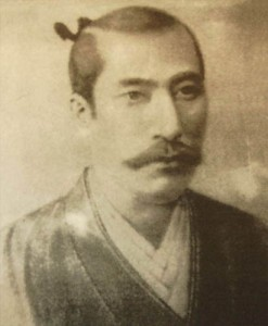 A copy of a portrait of Oda Nobunaga painted by Italian Jesuit Giovanni Nicolao, probably commissioned by Oda himself.