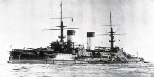 The Russian Battleship Suvorov