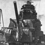 possible in 1932, turrent of takao cruiser