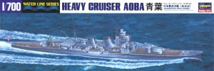 1/700 model ship for the Japanese heavy cruiser CA Aoba from Hasegawa.