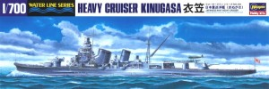 1/700 model ship for the Japanese heavy cruiser CA Kinugasa from Hasegawa.