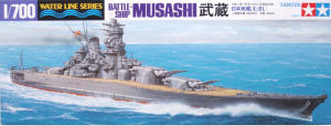 1/700 Japanese Battleship BB Musashi from Tamiya
