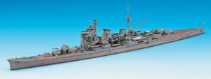 Constructed 1/700 model ship for the Japanese heavy cruiser CA Ashigara from Hasegawa.