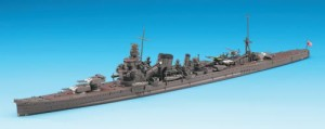 Constructed 1/700 model ship for the Japanese heavy cruiser CA Furutaka from Hasegawa.