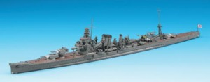 Constructed 1/700 model ship for the Japanese heavy cruiser CA Kako from Hasegawa.