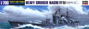 1/700 model ship for the Japanese heavy cruiser CA Nachi from Hasegawa.