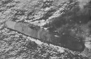Zuikaku during the Battle off Cape Engaño, 25 October 1944.