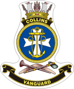 Collins SSG-73 submarine badge