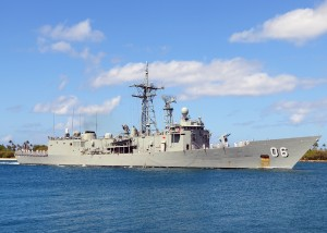 HMAS Newcastle FFG 06 in 2010.