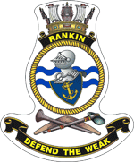 HMAS Rankin badge
