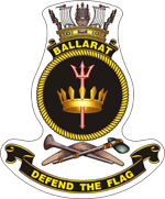 HMAS Ballarat Badge