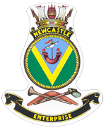 HMAS Newcastle badge
