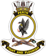 HMAS Perth Badge