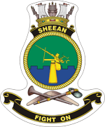HMAS Sheean Badge