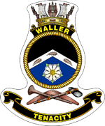 HMAS Waller badge