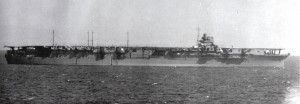 Japanese aircraft carrier Zuikaku.