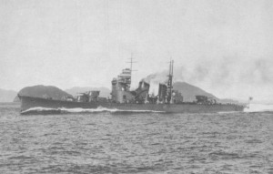 he pic shows Heavy Cruiser Nachi photographed soon after her full-power trials in November 1928