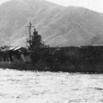 Sōryū at anchor in the Kurile Islands, shortly before the start of the Pacific War.