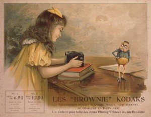 French Ad on Brownie Camera