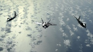 The Lockheed Martin F-22 Raptor