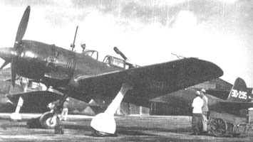 Nakajima C6N-1 night-fighter variant.