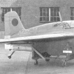 A test model of the J8M Shushui