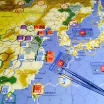 China Incident Scenario setup: Axis Empires Dai senso boardgame