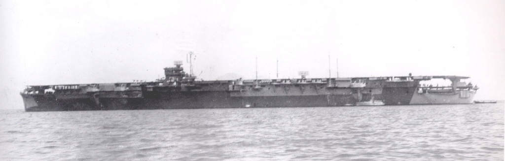 Amagi carrier sailing in 1944.