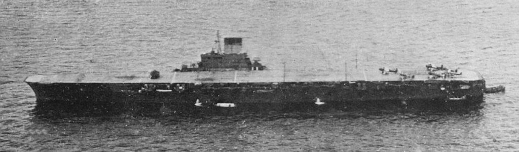 Imperial Japanese Navy Fleet Carrier Taiho in 1944.