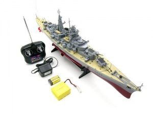 RC model ship bismarck