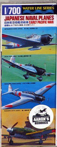 Japanese Naval Planes (Early Pacific War)