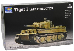 Trumpeter 1/72 German Tiger I Tank Late Production