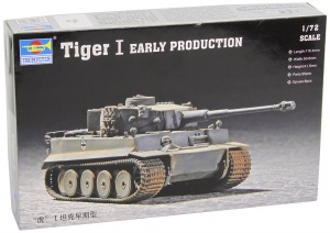 1/72 German Tiger I Tank Early Version