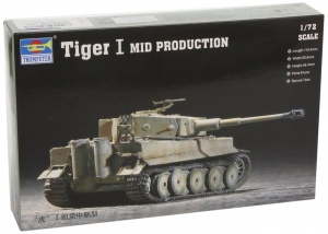 1/72 German Tiger I Tank Mid Production