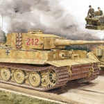 Pz.Kpfw.VI Ausf.E Tiger I Late Production with Zimmerit