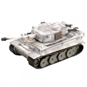 1/72 German Heavy Tank Tiger I Panzer in WWII, Snowfield Camouflage