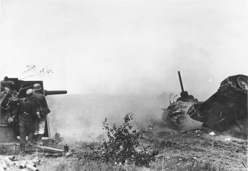 88mm Gun in Russian 1942.