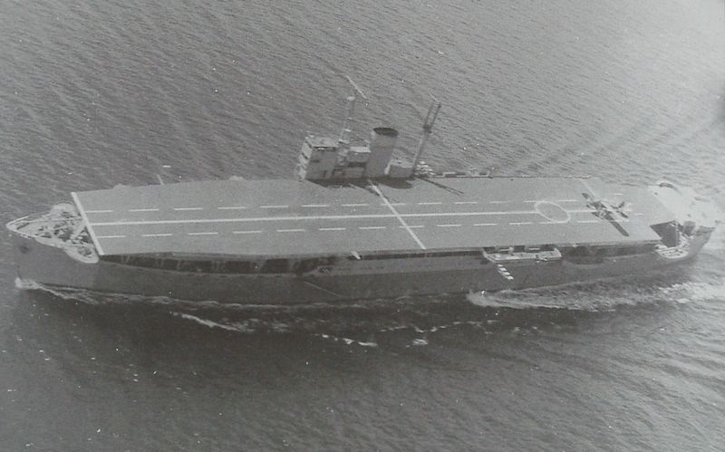 Image of the Akitsu MAru escort carrier, also known to be the first amphibious assault ship of the history. She was operated by the Imperial Japanese Army. Photo from 1944.