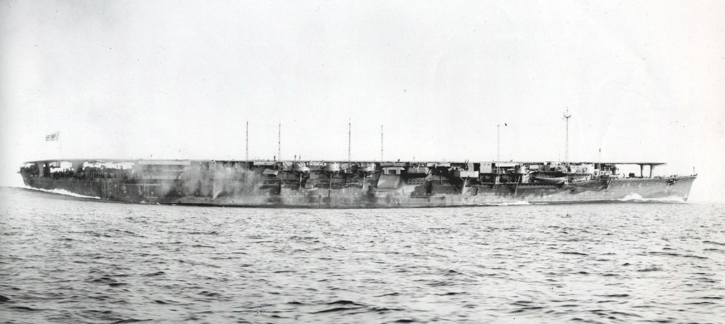 Japanese Aircraft Carrier Chiyoda in 1943.