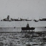 Imperial Japanese Army landing vehicle carrier Shinshu Maru.