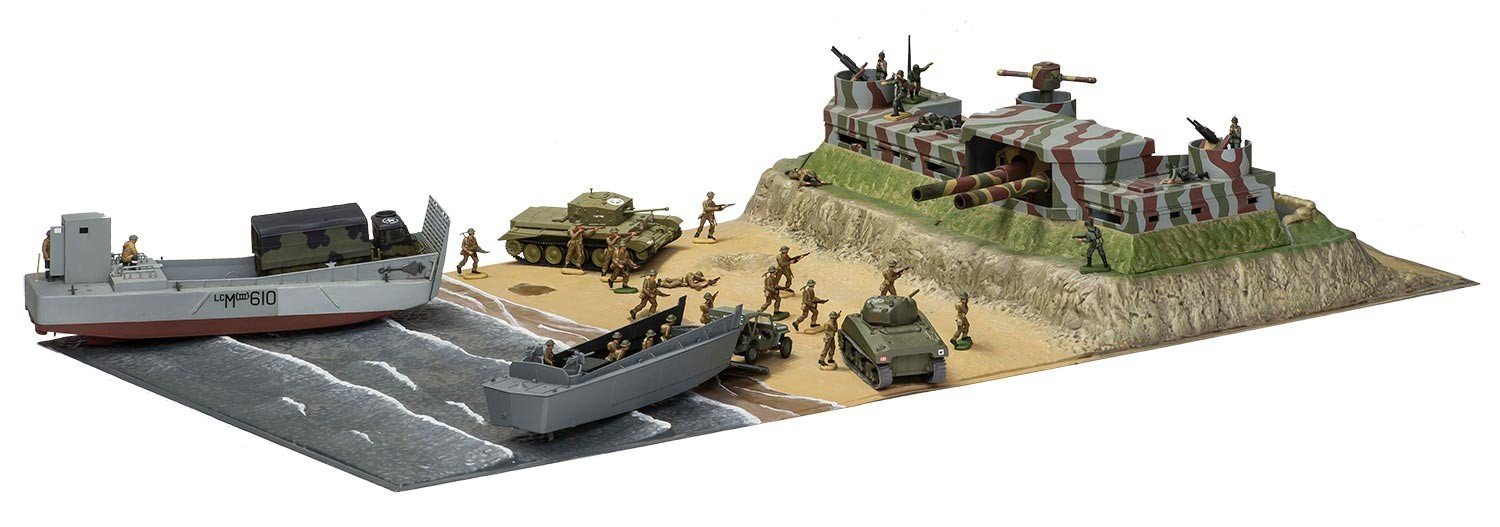D-Day Overlord operation diorama at 1/72 scale from Airfix.