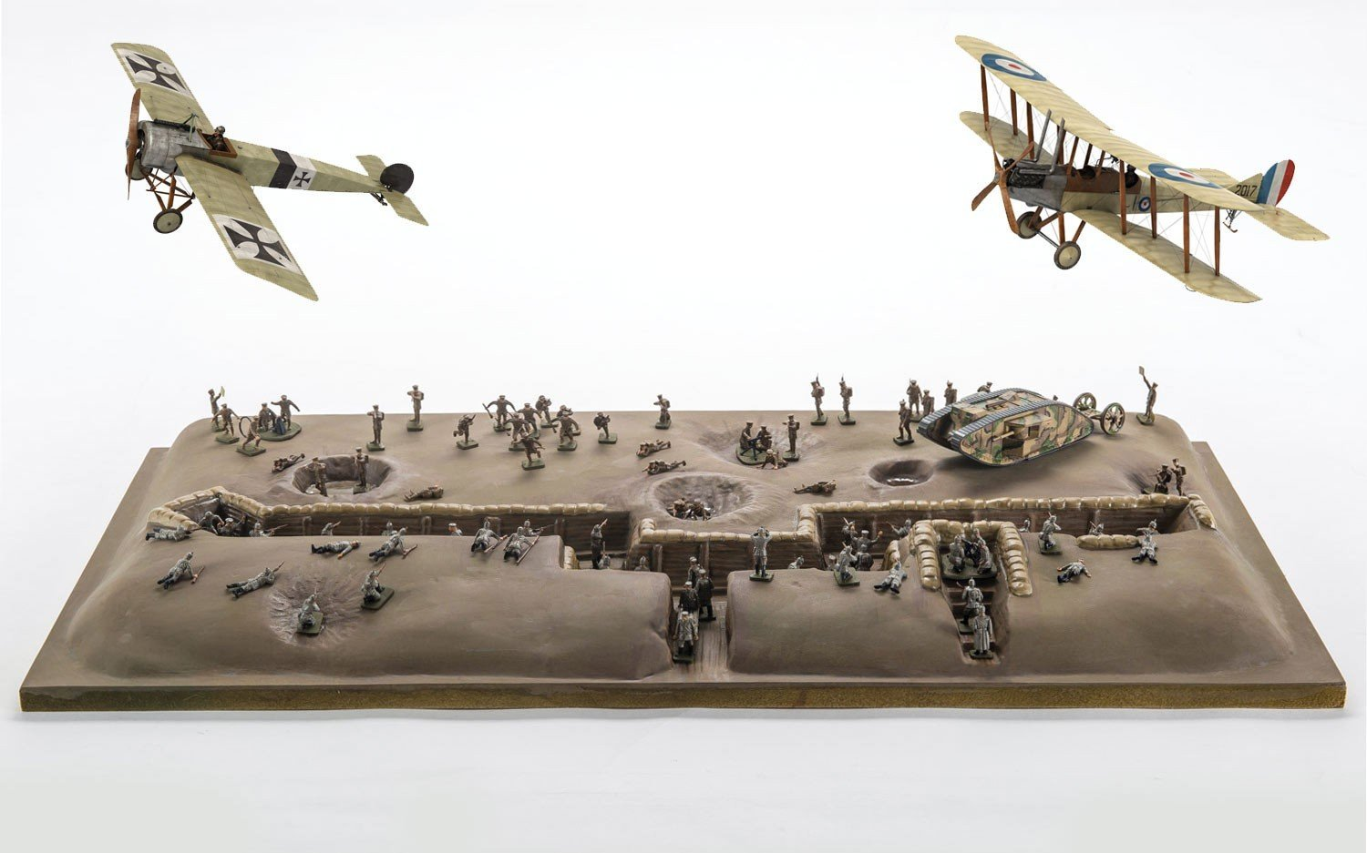 Battle Of Somme World War I Diorama At 1 72 Scale