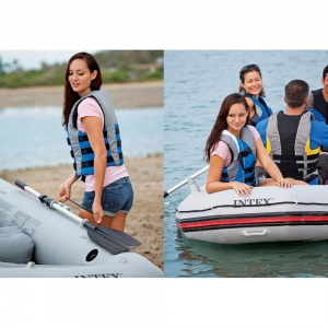 A 4-Person Inflatable Boat Set for excursion and many other activities.
