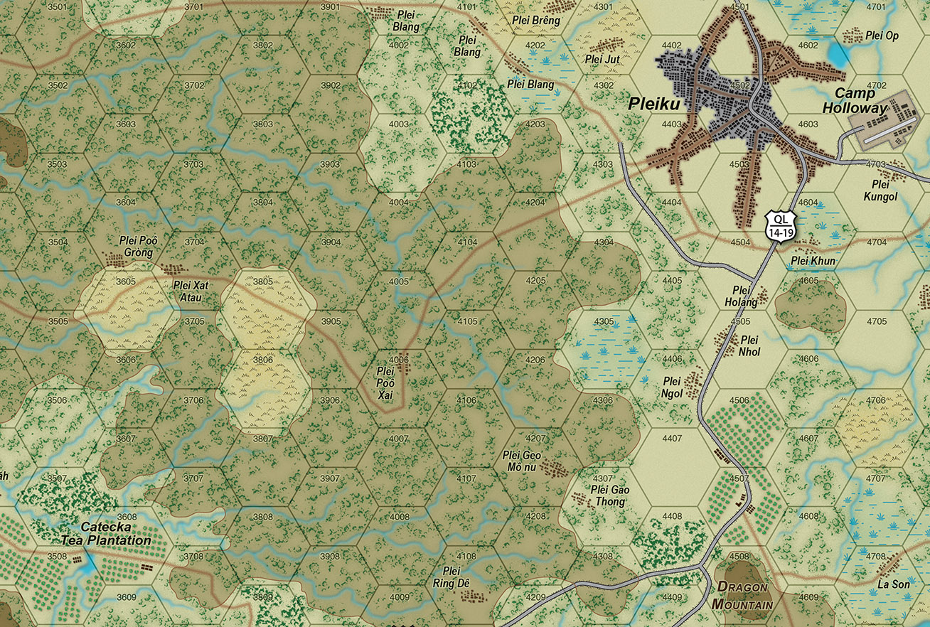 Details on the new map near Camp Holloway.