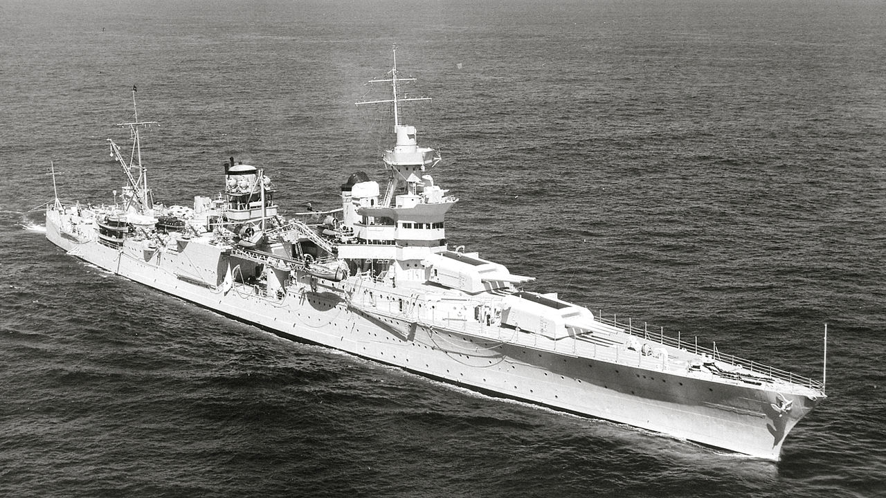 USS Indianapolis in 1939.