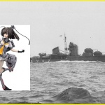 DD Akizuki and figure doll