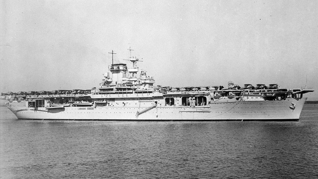 USS Wasp in 1940.