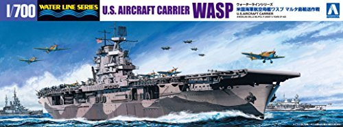 Wasp carrier at 1/700 scale